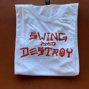 Swing and Destroy Tri-blend Tshirt
