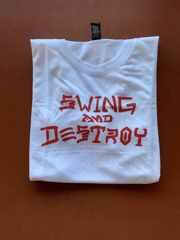 Swing and Destroy Tri-blend Tshirt