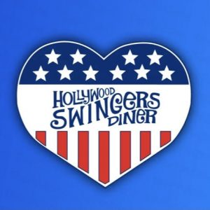 1 inch Swingers Heart soft enamel pin